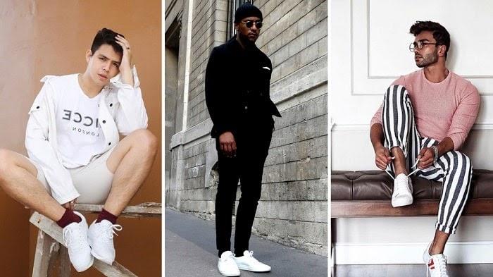 Giày trắng đi với tất màu gì là chuẩn nhất?