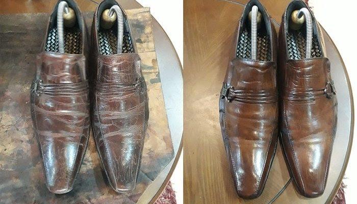 Khắc phục giày da bị nhăn với 6 cách siêu đơn giản tại nhà