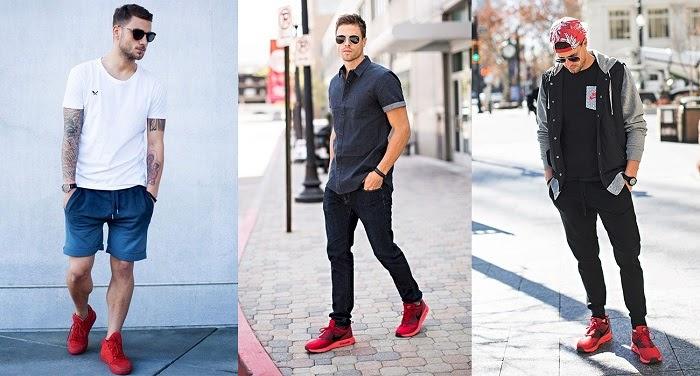 Cách phối đồ với giày đỏ nam như thế nào để hợp thời trang?