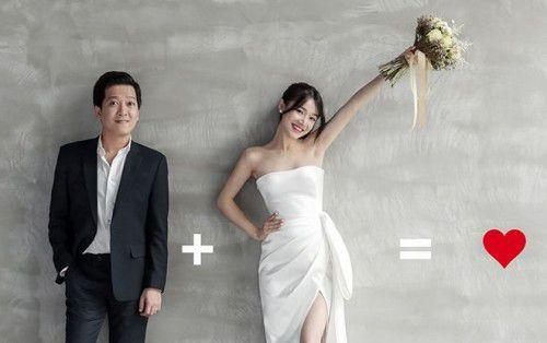 Bộ ảnh cưới ngọt ngào của Nhã Phương và Trường Giang