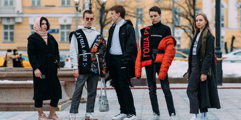 Phong cách đường phố đỉnh cao ở tuần lễ thời trang Nga mùa thu 2018
